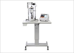 眼軸⾧・角膜厚測定装置